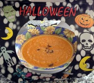 Pumpkin Soup with Fried Sage