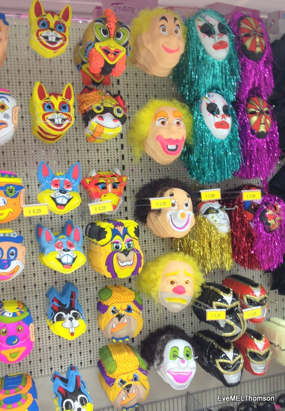 I omitted the very scary masks!
