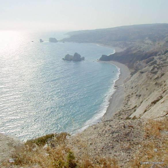 Aphrodite's Rock, Paphos, Cyprus