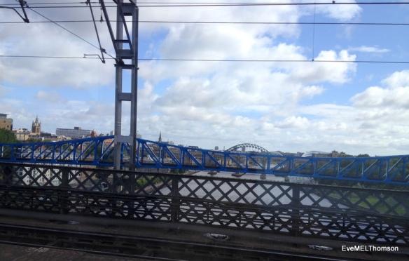 Newcastle, UK -Four of the Five Bridges
