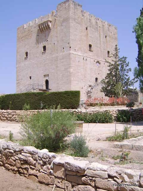 Kolossi castle, near Limassol, Cyprus