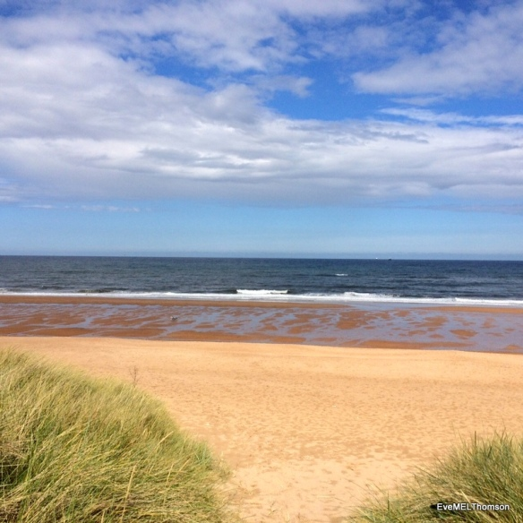 A Northumberland beach, UK