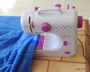 My smooth, light new sewing machine
